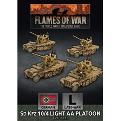SdKfz 10/4 Light AA Platoon
