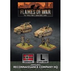 Armoured Reconnaissance Company HQ (2 Plastic)