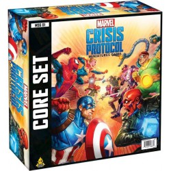 Marvel Crisis Protocol Miniatures Game Core (Inglés)