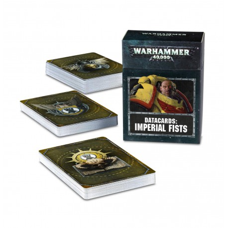 Datacards: Imperial Fists (Inglés)