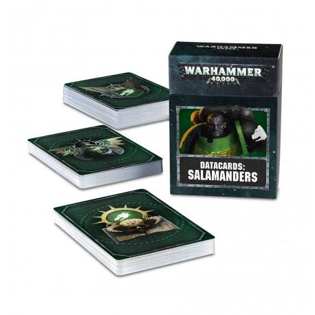 Datacards: Salamanders (Castellano)