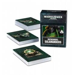 Datacards: Salamanders (Inglés)