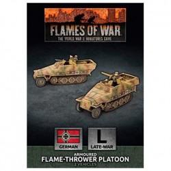 Sd Kfz 251 Flamethrower Platoon