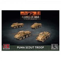 Puma Scout Troop (x4 Plastic)