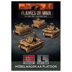 Mobelwagen 3.7cm AA Tank Platoon (x4)