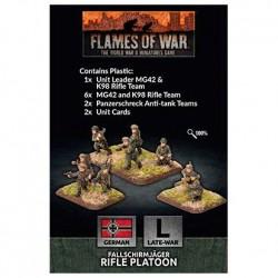 Fallschirmjager Platoon (Plastic)