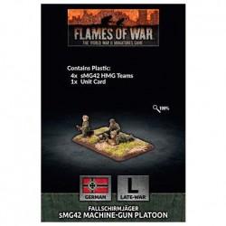 Fallschirmjager HMG Platoon (x4 Plastic)