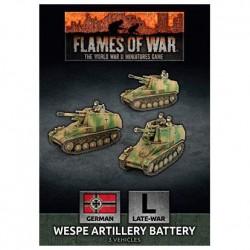 Wespe Artillery Battery (x3)