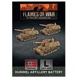 Hummel Artillery Battery (x3)