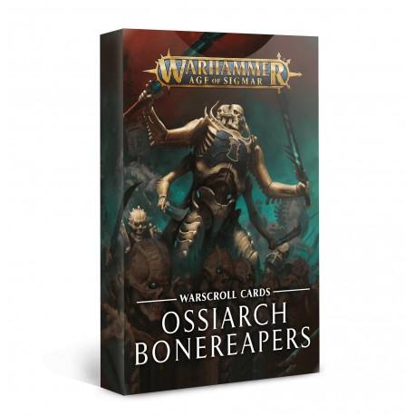 Warscrolls: Ossiarch Bonereapers (Spanish)