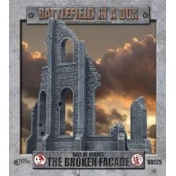 Gothic Battlefields - Broken Facade (2) - 30mm