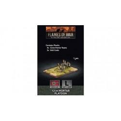 12cm Mortar Platoon (x4 Plastic)
