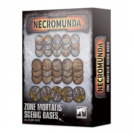 Necromunda: Zone Mortalis Scenic Bases