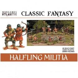 Classic Fantasy Halfling Militia (40)