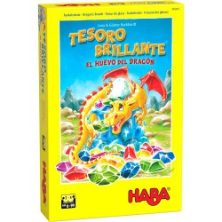 Tesoro Brillante: El Huevo del Dragón (Spanish)