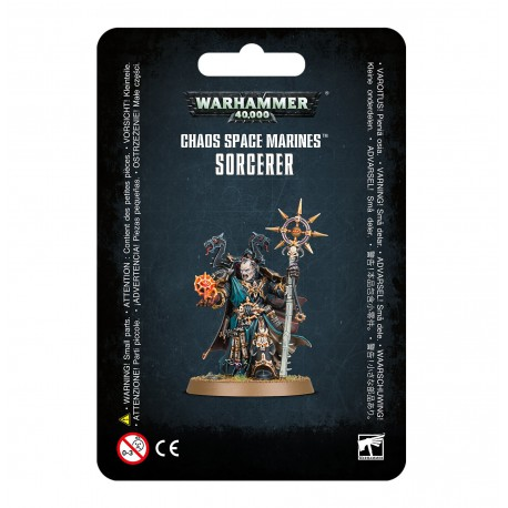 Chaos Space Marines Sorcerer (1)