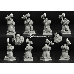 28mm/30mm Dwarf Lord Yergan