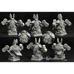 28mm/30mm Dwarf Lord Darhan