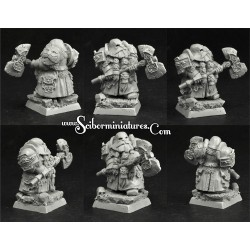 28mm/30mm Dwarf Lord Kromdal