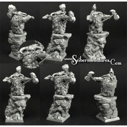 28mm/30mm Dwar Lord Silur