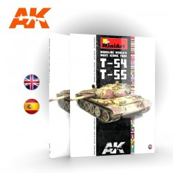 T-54/T-55 Modelando el Tanque más Icónico del Mundo (Spanish)