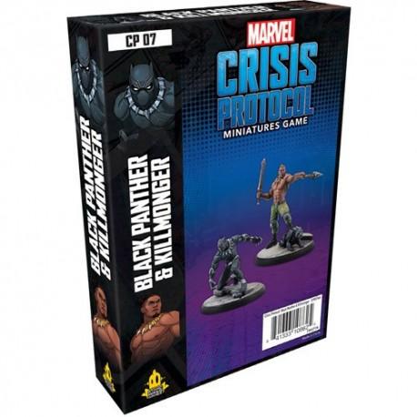 Black Panther and Kilmonger Character MCP (English)