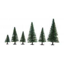 Model Fir Trees, extra high (10)
