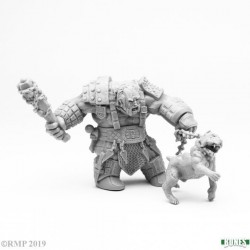 Fire Giant Huntsman W/ Hell Hound