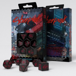 Cyberpunk Red RPG Dice Set (7)