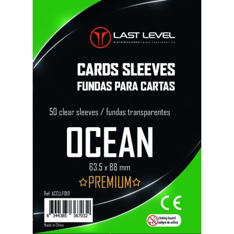 Ocean Premium Sleeves (63.5x88) (50)