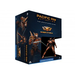 Pacific Rim Jaeger Expansion Saber Athena (Spanish)