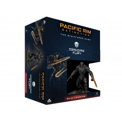 Pacific Rim Kaiju Expansion Obsidian Fury (Spanish)