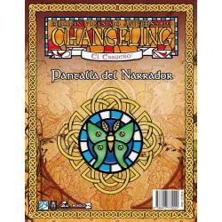 Changeling 20A: Pantalla del Narrador (Spanish)