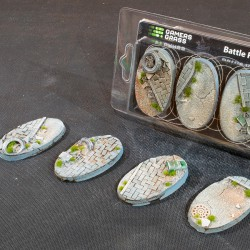 Urban Warfare Bases Oval 60mm (x4)
