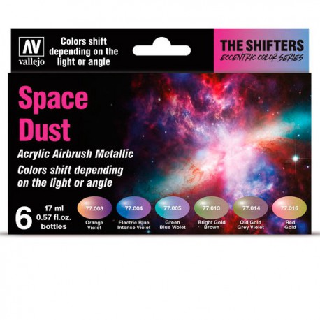 The Shifters Set - Space Dust (6 x 17 ml.)