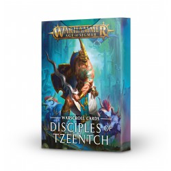 Warscrolls: Disciples of Tzeentch (Spanish)