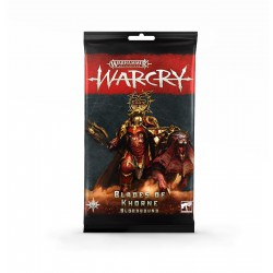 Warcry: Blades of Khorne Cards (Multiidioma)