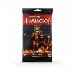 Warcry: Blades of Khorne Cards (Multilanguage)