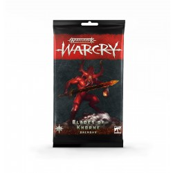 Warcry: Daemons of Khorne Cards (Multiidioma)
