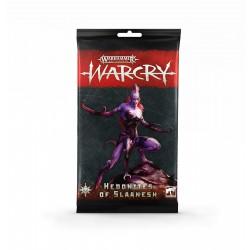 Warcry: Hedonites of Slaanesh Cards (Multiidioma)