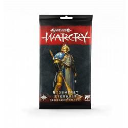 Warcry: Stormcast Eternals Sancrosanct Chamber Cards (Multilanguage)