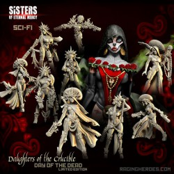 Daughters of The Crucible Dead Pack: All 10 Day of the Dead Edition!