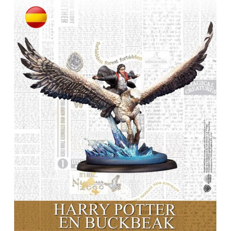 Harry Potter en Buckbeak (Castellano)