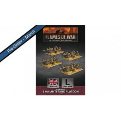 Contains: 4x 6 pdr Gun Teams and 2x Unit Cards