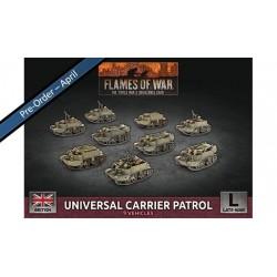 Universal Carrier Patrol (x9 Plastic)
