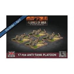 17 pdr Anti-Tank Platoon (x4 Plastic)
