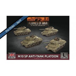 Contains: 4x M10 Tank Destroyers, 1x Decal Sheet, and 1x Unit Cards