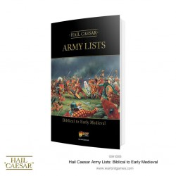 Hail Caesar Army Lists: Biblical to Early Medieval