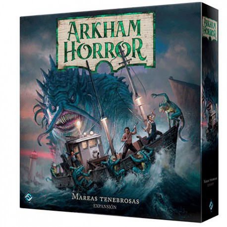 Mareas Tenebrosas - Arkham Horror 3ª Ed (Spanish)