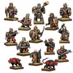 Abyssal Dwarf Warband Set (Inglés)